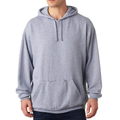 Greek Printed Tailgate Hooded Sweatshirt - J. America  - CAD