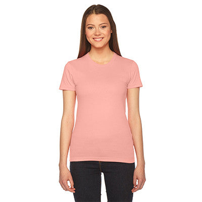 Alpha Delta Pi Embroidered Jersey Tee - American Apparel 2102 - EMB