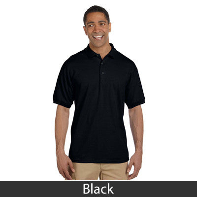 Fraternity Embroidered Men's Pique Polo - Gildan 3800 - EMB