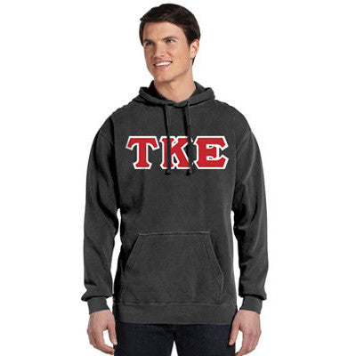 Fraternity Comfort Colors Hooded Sweatshirt - Comfort Colors 1567 - TWILL