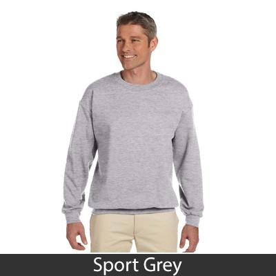 Greek Fraternity Printed Vertical Arc Crewneck Sweatshirt - Gildan 18000 - CAD