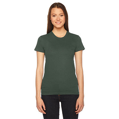 Alpha Epsilon Phi Embroidered Jersey Tee - American Apparel 2102 - EMB