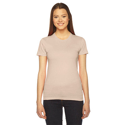 Alpha Kappa Alpha Embroidered Jersey Tee - American Apparel 2102 - EMB