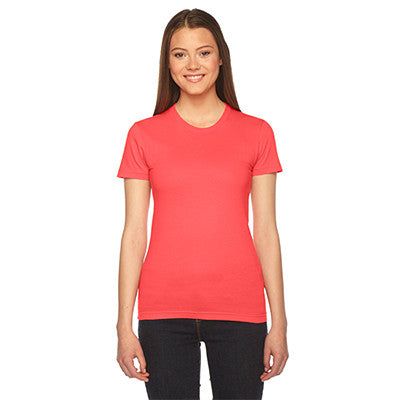 Alpha Xi Delta Embroidered Jersey Tee - American Apparel 2102 - EMB