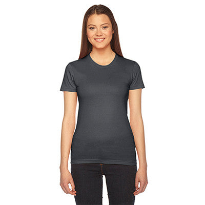 Alpha Sigma Alpha Embroidered Jersey Tee - American Apparel 2102 - EMB