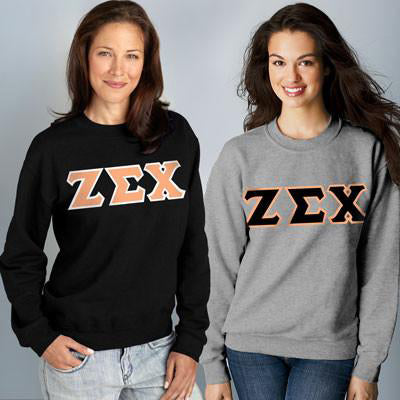Sorority 9oz. Crewneck Sweatshirt Package - Gildan 12000 - TWILL