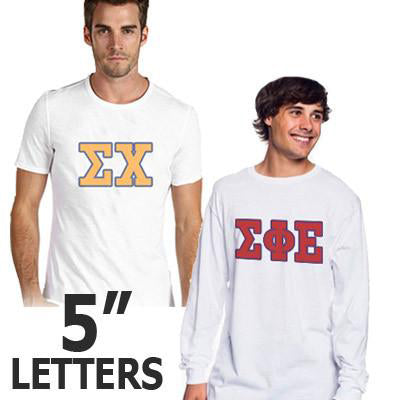 Fraternity Longsleeve and T-Shirt Budget Package - Letters - SUB