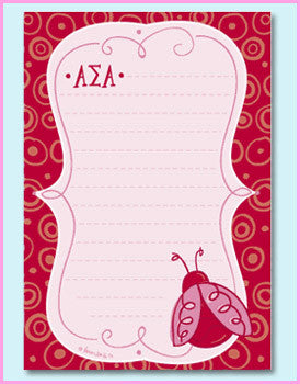 Alpha Sigma Alpha Mascot Pad - On Sale - Alexandra Co. a2005