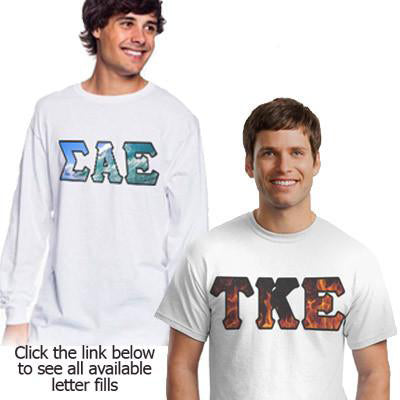 Fraternity Longsleeve and T-Shirt Panoramic Package - SUB