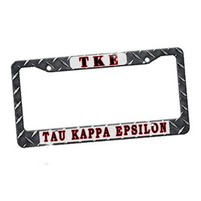 Fraternity Custom License Plate Frame - U4567