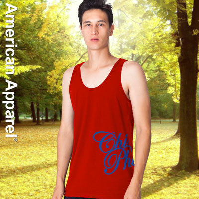 Chi Phi Fraternity Printed Tank - American Apparel 2408W - CAD
