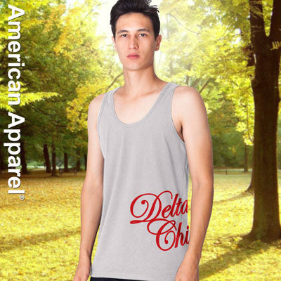 Delta Chi Fraternity Printed Tank - American Apparel 2408W - CAD