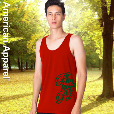 Phi Kappa Psi Fraternity Printed Tank - American Apparel 2408W - CAD
