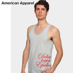 American Apparel Fraternity Scripted Tank Top - American Apparel 2408W - CAD