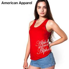 Sorority Unisex Printed Tank Top - American Apparel 2408 - CAD