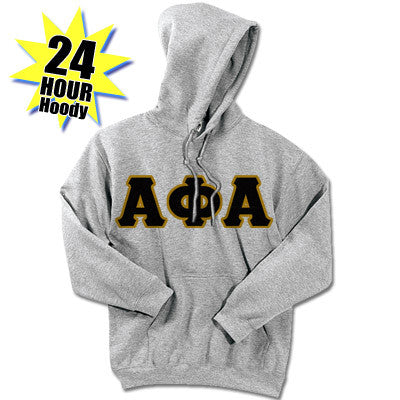 Alpha Phi Alpha 24-Hour Sweatshirt - G185 or S700 - TWILL