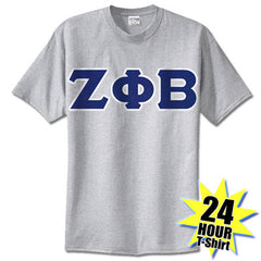 Zeta Phi Beta 24-Hour Tee - Gildan 5000 - TWILL