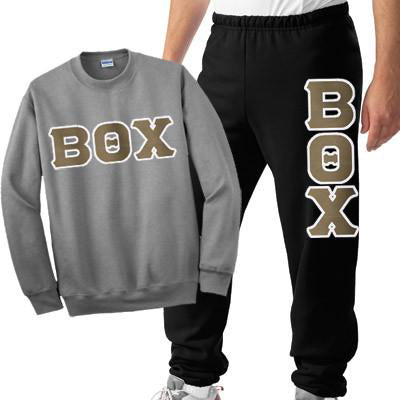 Greek Crewneck Sweatshirt / Sweatpants Package - TWILL