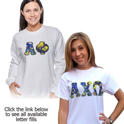 Sorority Crewneck and T-Shirt Panoramic Package - SUB
