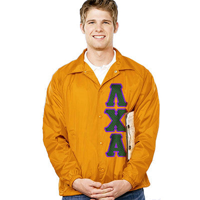 Fraternity Coach's Jacket - Augusta 3100 - TWILL