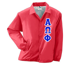 Alpha Omega Phi Coach's Jacket - Augusta 3100 - TWILL