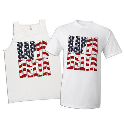 Greek Patriotic Printed Tee and Tank Package - SUB