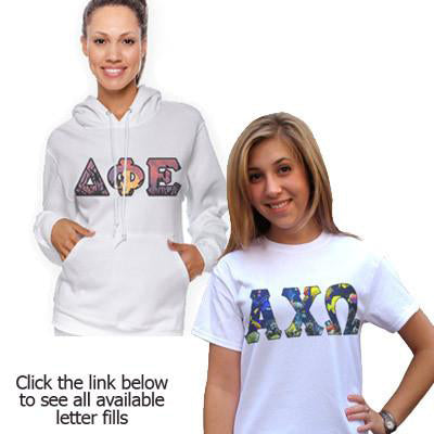 Sorority Hoody and T-Shirt Panoramic Package - SUB