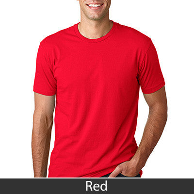 Fraternity Next Level Fitted T-Shirt with Twill - Next Level 3600 - TWILL