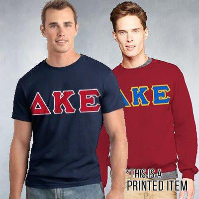 Fraternity Custom Printed Crewneck and T-Shirt Pack - DIG
