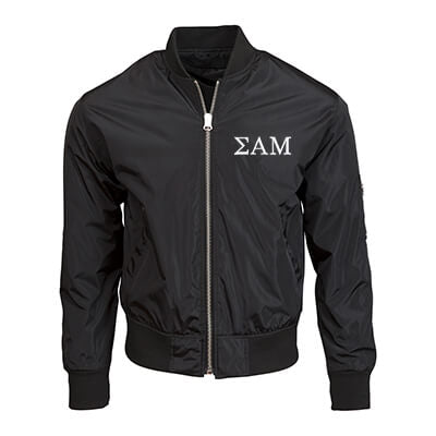 Fraternity and Sorority Embroidered Unisex Bomber Jacket - Threadfast Apparel 395J - EMB