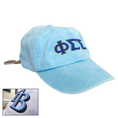 3D Sorority Pigment-Dyed Hat - Adams AD969 - EMB