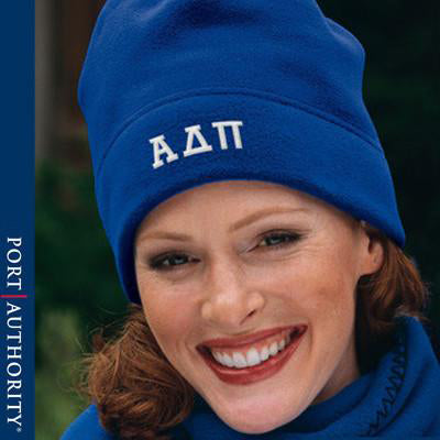 Sorority Winter Hat and Scarf Package - EMB