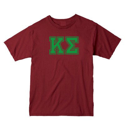Fraternity Comfort Colors Printed T-Shirt - C1717 - CAD