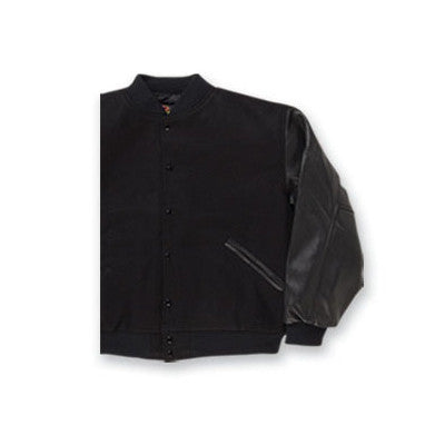 Fraternity Leather Sleeve Jacket - GAME 5000 - TWILL