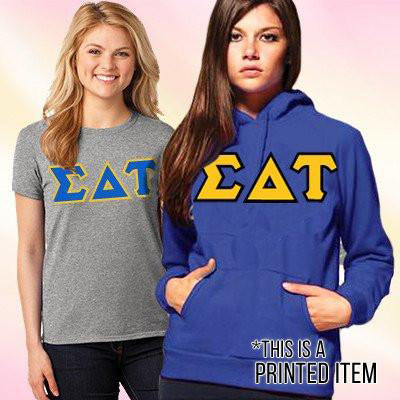 Sorority Custom Printed Hoody and T-Shirt Pack - DIG