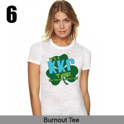 Sorority Shamrock Design - SUB