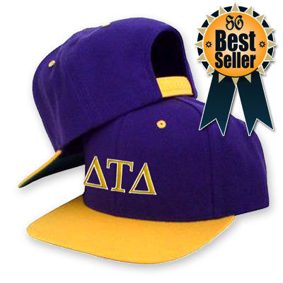 e088c44fcc5 Classic Snap-back Fraternity Cap with Embroidery - Greek Clothing