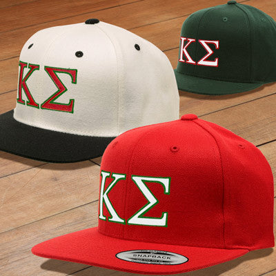 987639d9c1b Kappa Sigma Snapback with Embroidered Letters - Fraternity Clothing