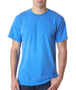 Greek Neon T-Shirt with Twill Letters - Gildan 500 - TWILL
