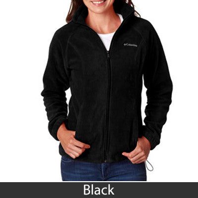 Sorority Columbia Embroidered Ladies Full-Zip Fleece Jacket - Columbia 6439 - EMB