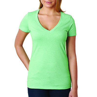 Next Level Deep V Sorority Printed Tee - Next Level 6640 - CAD