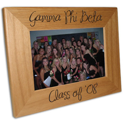 Custom Greek merchandise Sorority Picture Frame