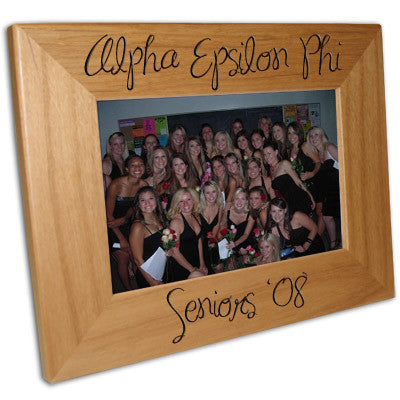 Sorority Seniors 4x6 Picture Frame - PTF146 - LZR