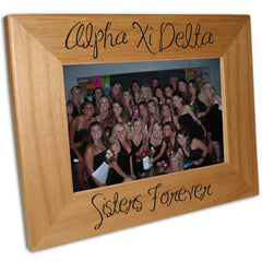 Sorority Sisters Forever 4x6 Picture Frame - PTF146 - LZR