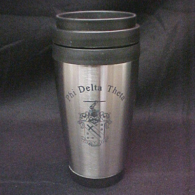 Greek Stainless Tumbler with Crest - McCartney mc762-G105