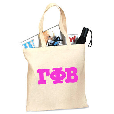 Gamma Phi Beta Printed Budget Tote - Letter - 825 - CAD