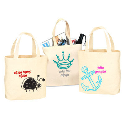 Sorority Mascot Printed Tote Bag - 825 - CAD