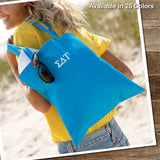Sorority Basic Tote - UltraClub 8801 - EMB