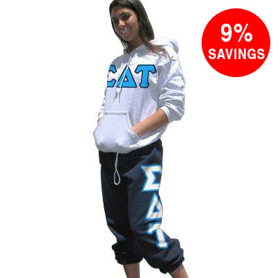 Sorority Hoody / Sweatpant Package - TWILL