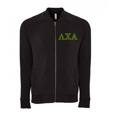 Fraternity and Sorority Embroidered Unisex PCH Bomber Jacket - Next Level Apparel 9700 - EMB